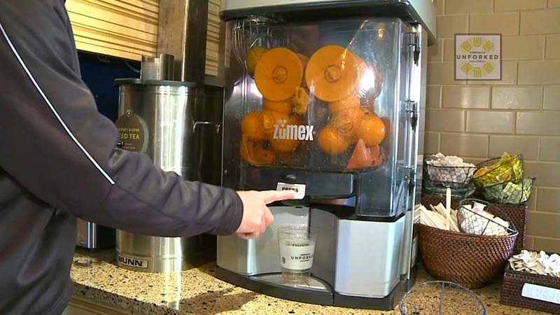 دستگاه اب پرتقال گیری