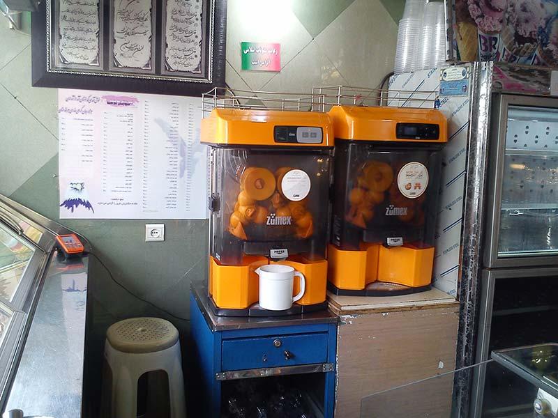 قیمت دستگاه آب پرتقال گیری