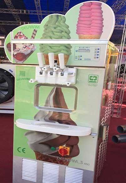 قیمت دستگاه بستنی ساز دلارام