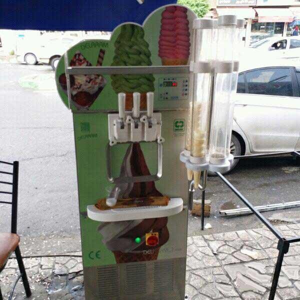دستگاه بستنی ساز دلارام