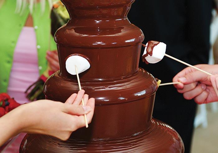 دستگاه چشمه شکلات