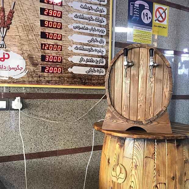 قیمت دستگاه دلستر بشکه ای