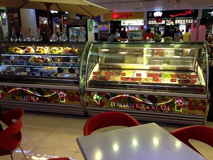 قیمت تاپینگ بستنی کوچک