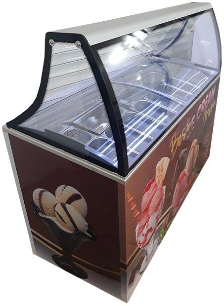 ابعاد تاپینگ بستنی