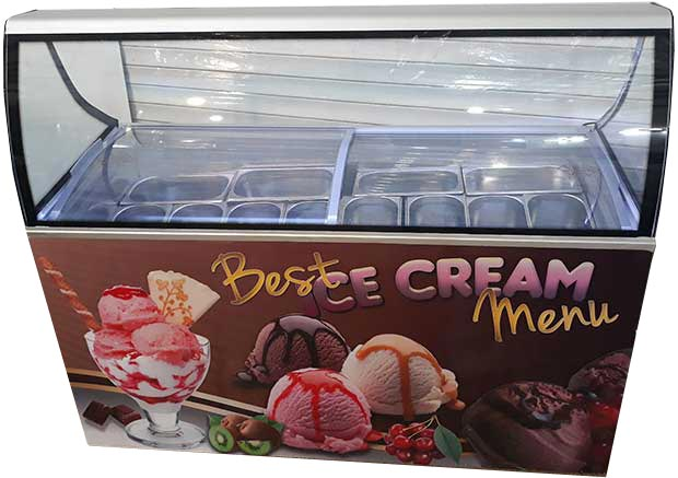 قیمت تاپینگ بستنی میوه ای