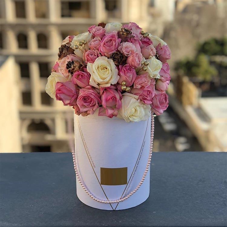 خرید باکس گل ارزان قیمت