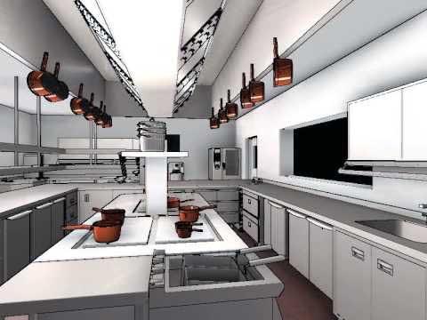 طراحی آشپزخانه بیرون بر