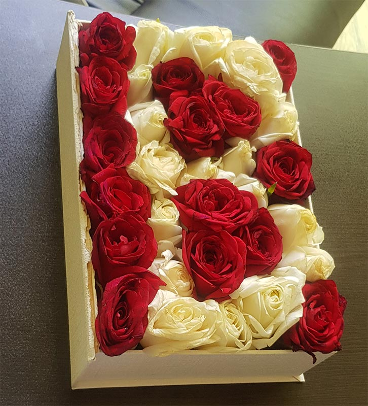 فروش باکس حروف گل