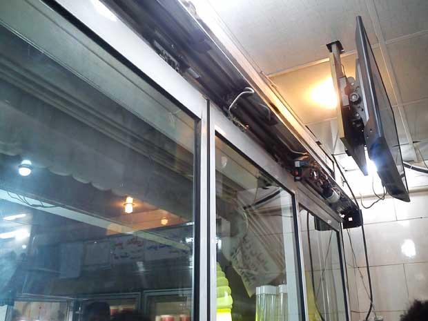 تعمیرات درب اتوماتیک شیشه ای