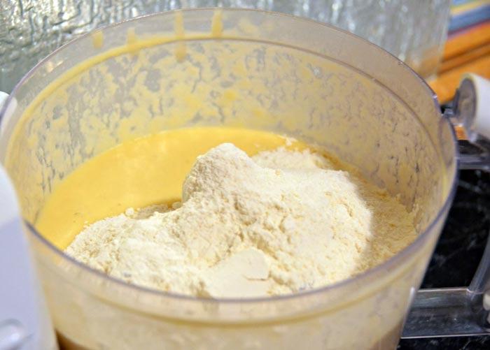 کیک موزی شف طیبه