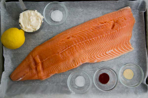 how to oven cook salmon in tin foil