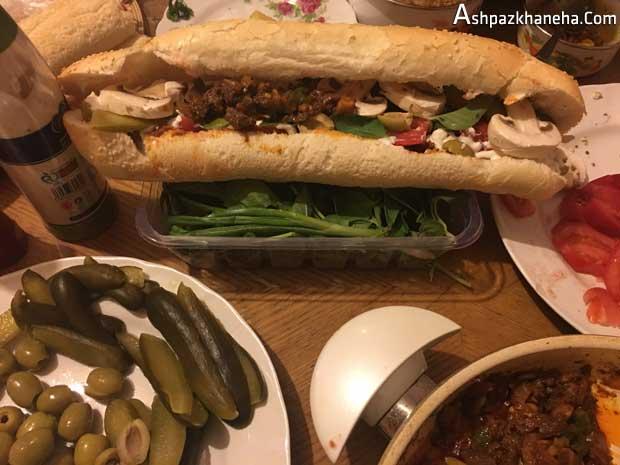 ساندویچ جیگر