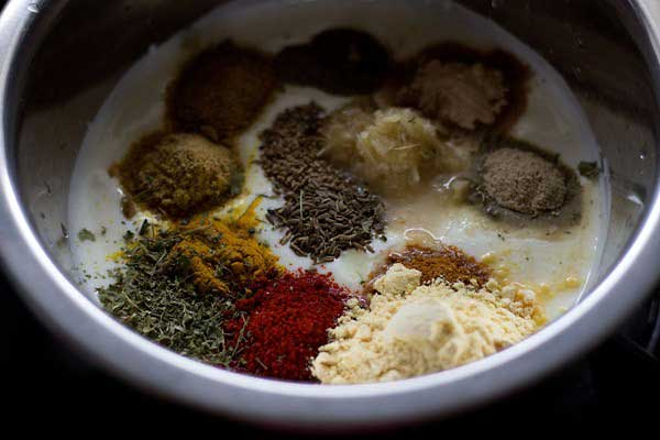 غذای هندی با سبزیجات