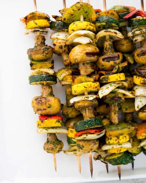 بشقاب سبزیجات رستوران
