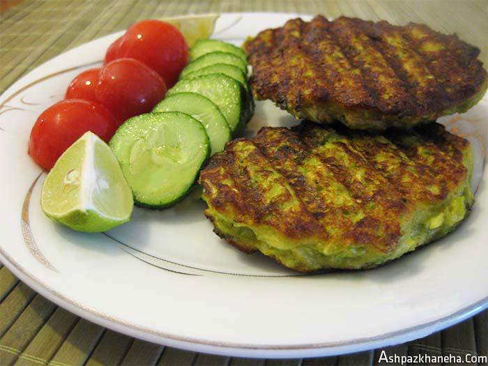 غذا با کدو سبز