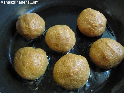 طرز تهیه کوفته هویج برای دو نفر