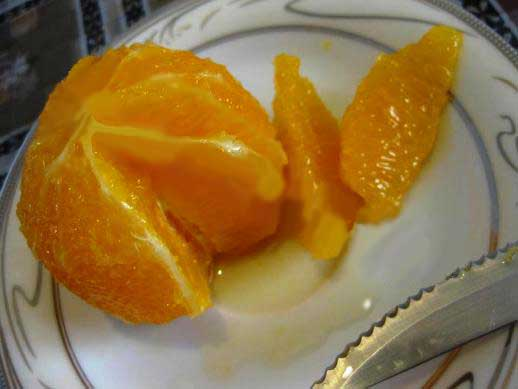 مارمالاد پرتقال با پودر ژلاتین