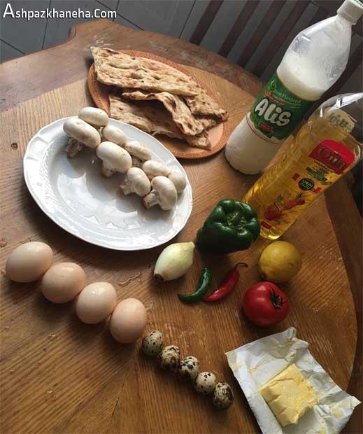 طرز پخت نیمرو