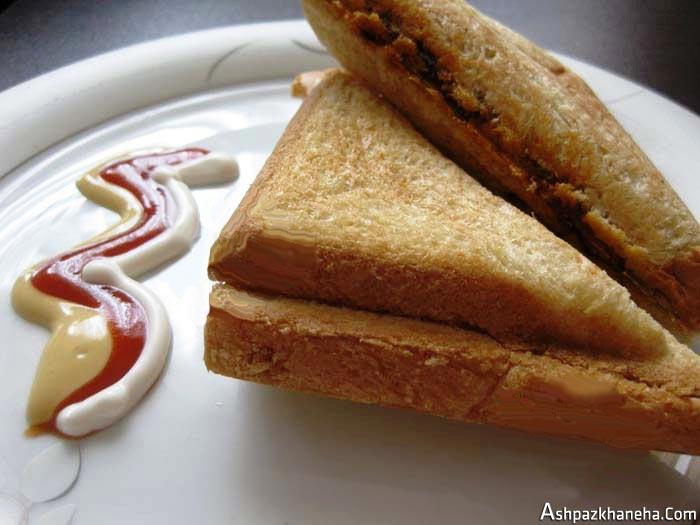 طرز تهیه اسنک بدون ساندویچ ساز