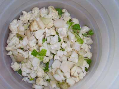 ترکیب سبزی ترشی
