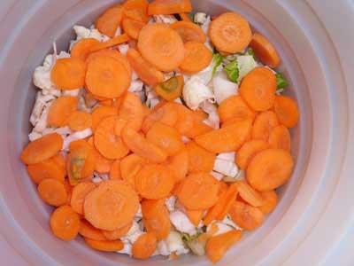 طرز تهیه ترشی سبزیجات معطر