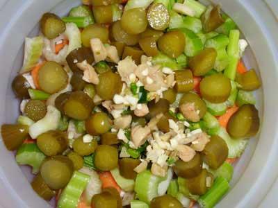ترشی سبزی خوردن