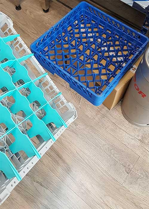 سبد ماشین ظرف شویی صنعتی
