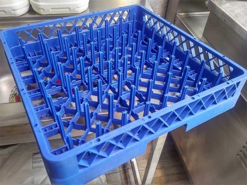 سبد بشقاب ماشین ظرفشویی صنعتی