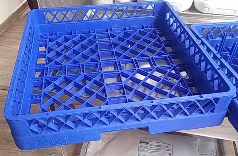 سبد کاسه لیوان ماشین ظرفشویی صنعتی