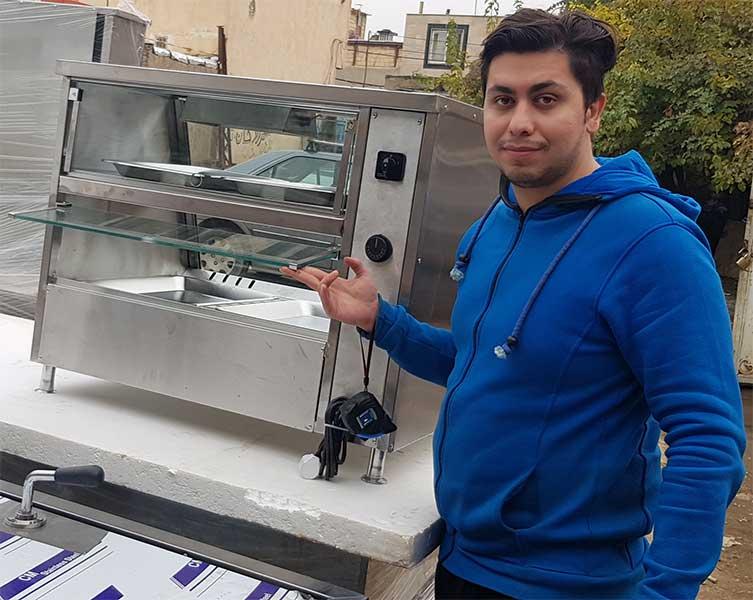 قیمت دستگاه مرغ سوخاری دست دوم