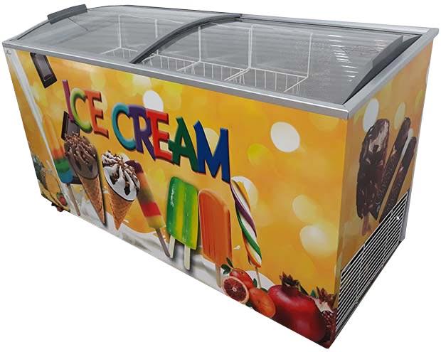 فریزر بستنی فروشی