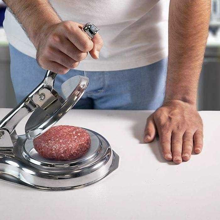 قالب همبرگر زن دستی