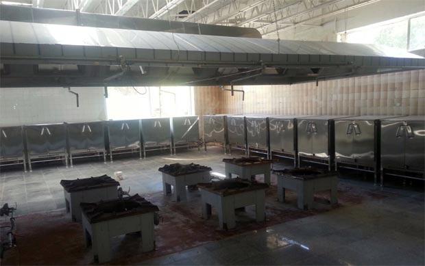 هود اشپزخانه صنعتی