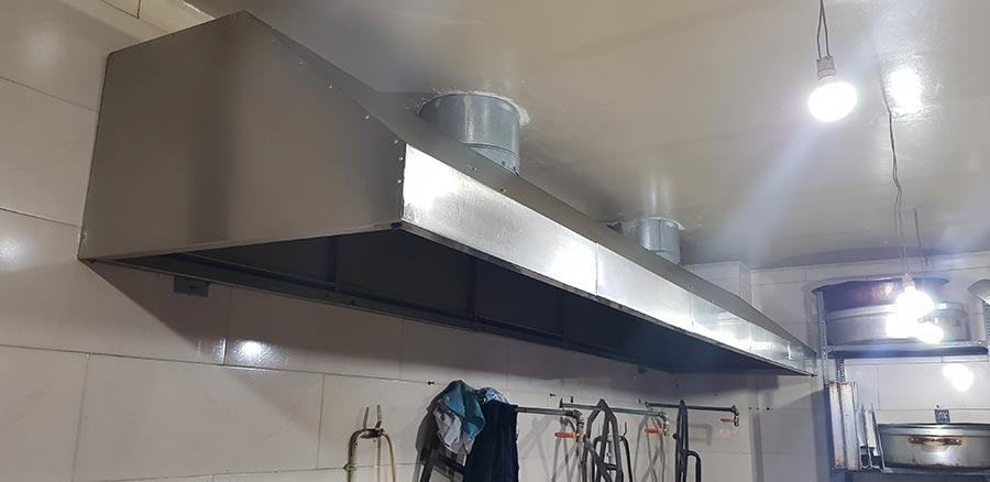 هود صنعتی آشپزخانه