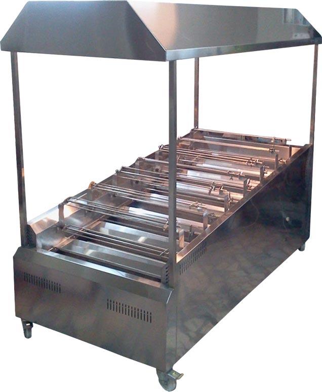 دستگاه مرغ سوخاری ذغالی