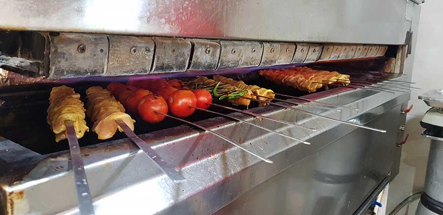 کباب پز تابشی چیست