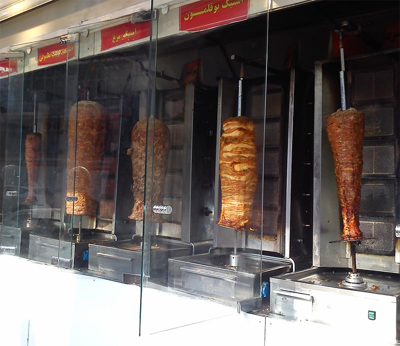 قیمت دستگاه کباب ترکی
