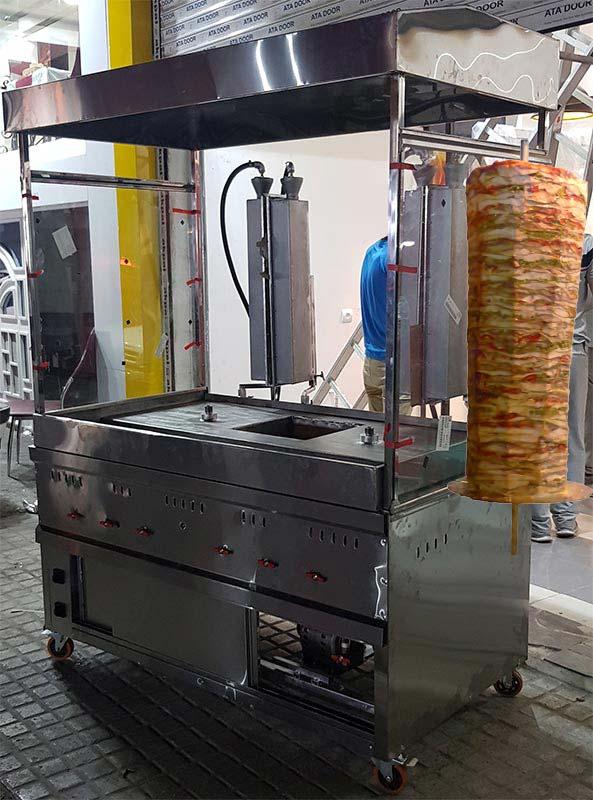 دستگاه کباب ترکی اتوماتیک