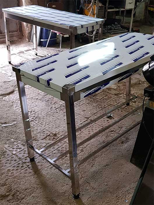 تولید کننده میز کار استیل