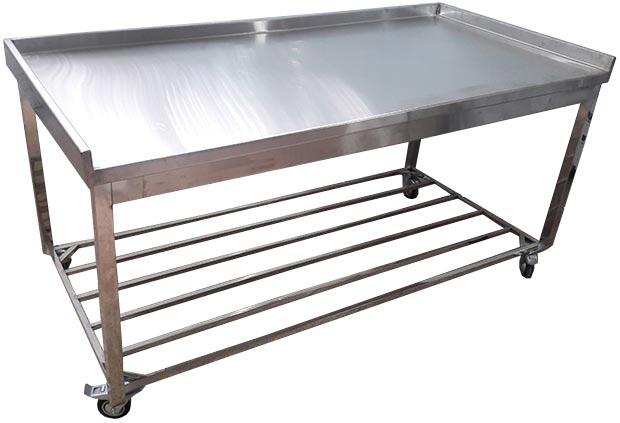 میز استیل صنعتی