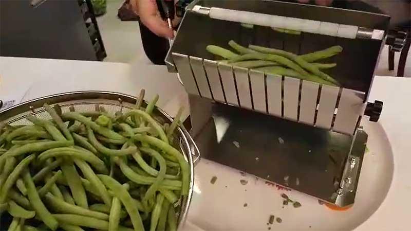 لوبیا سبز خرد کن