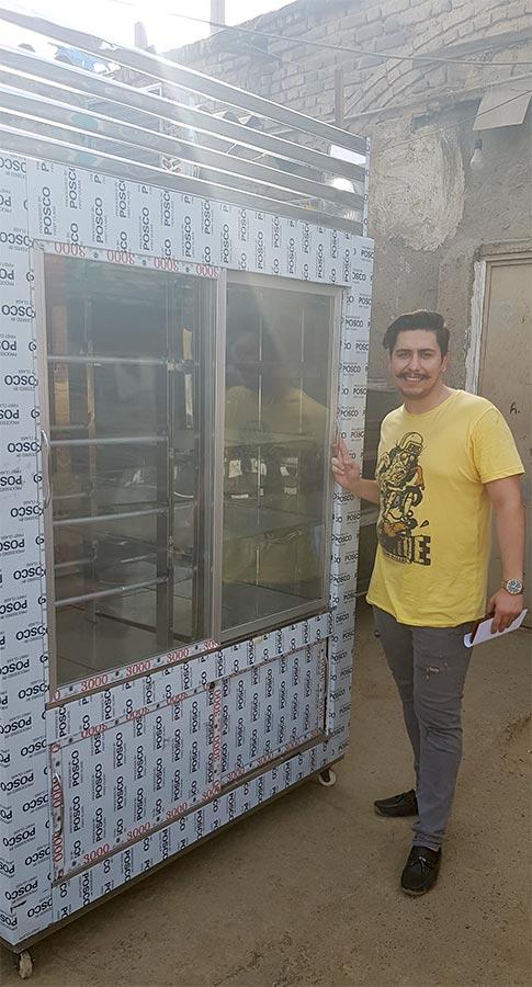 یخچال ویترینی کبابی