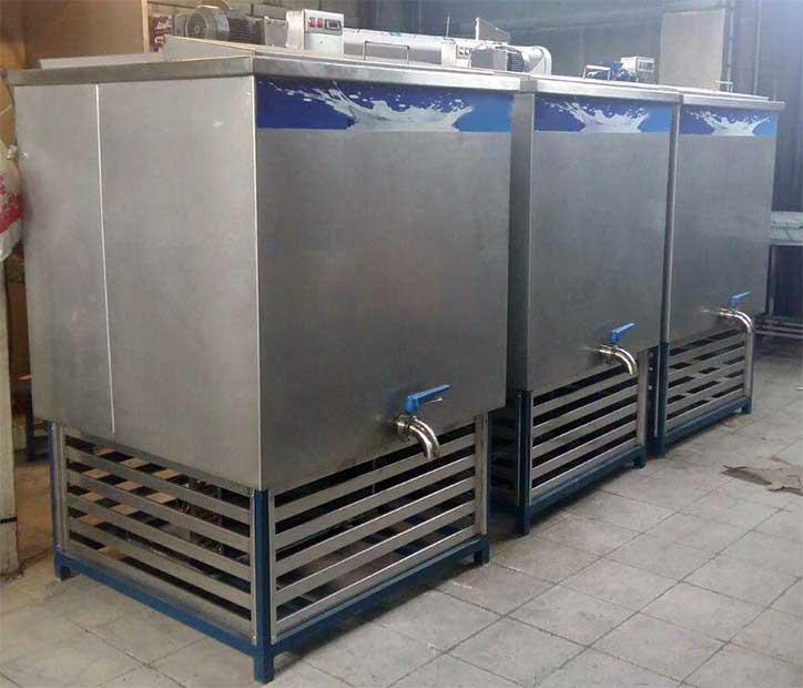 دستگاه شیر سرد کن صنعتی