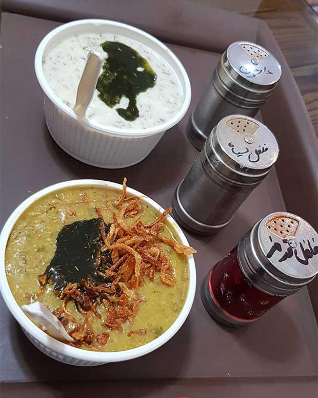 طرز تهیه آش سبزی بوشهری