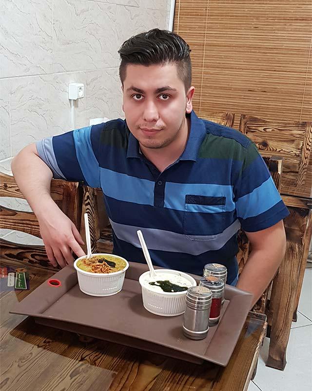 آش سبزی صبحانه شیرازی
