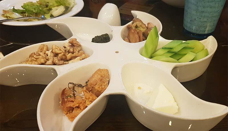 منوی رستوران گیله وا هتل استقلال