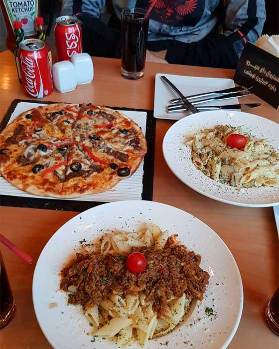 رستوران سیرو اندرزگو