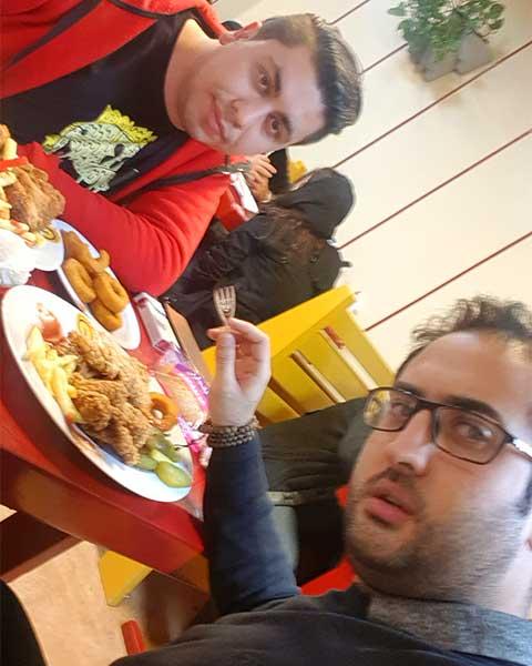 مرغ سوخاری تهران شعبه طالقانی