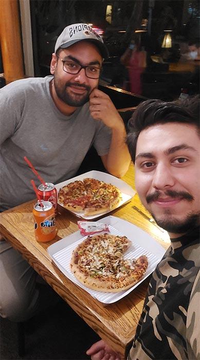 پیتزا خاتون اسنپ فود