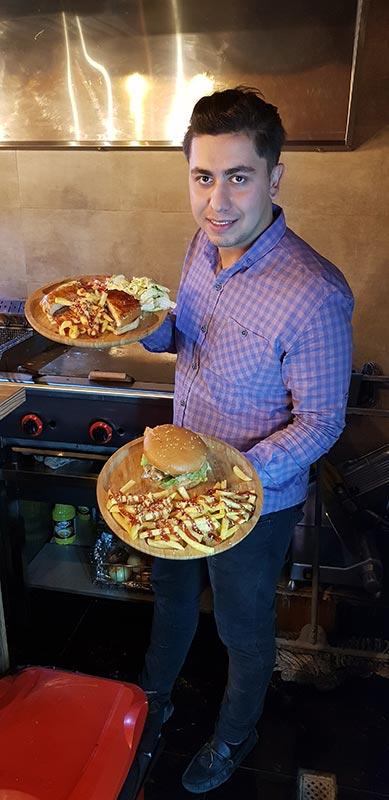 همبرگر و چیزبرگر